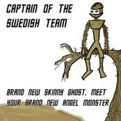 Brand New Skinny Ghost, Meet Your Brand New Angel Monster by CAPTAIN OF THE SWEDISH TEAM album cover