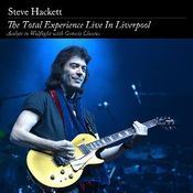 The Total Experience Live In Liverpool by HACKETT, STEVE album cover