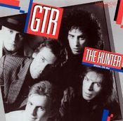 The Hunter by GTR album cover