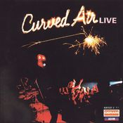 Curved Air Live by CURVED AIR album cover