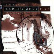 Stamping Ground - Live by BRUFORD'S EARTHWORKS, BILL album cover