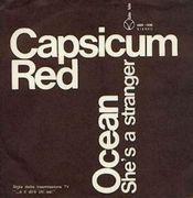Ocean/ She's A Stranger by CAPSICUM RED album cover