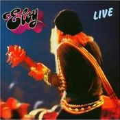 Eloy Live by ELOY album cover