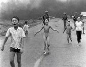 Kim Phuc, a nineyear old girl running naked and