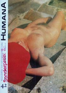 - Cover and scans from the German nudist magazine Humana circa 1971