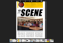 "The February issue of Sachem's ""SCENE"" magazine is now available"