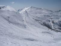 La pista Celina Seghi  sullo sfondo la Val di Luce