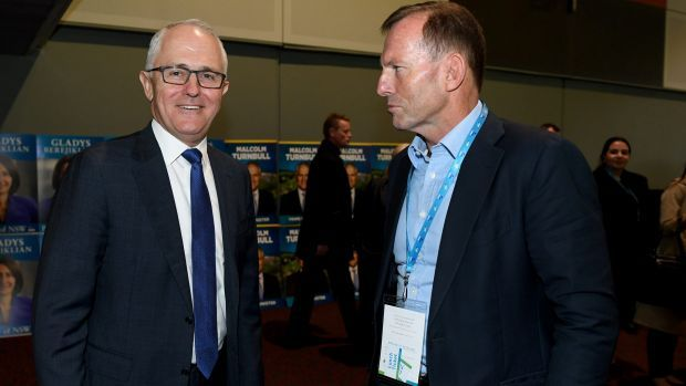 Tony Abbott praises Malcolm Turnbull for backing party reform - The Sydney Morning Herald