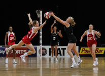 Netball: International Series put  Sportsister – The Women's
