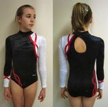 Springfit Club leotard � long sleeved