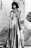 """Beatrice Richter Ende der 1980er Jahre in """"Lucullus und Cleopatra"""