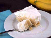 Gluten Free Bananas Foster Cream Pie from The Baking Beauties