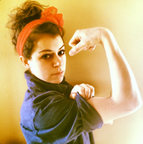 Tatiana Maslany As Rosie the Riveter | The Mary Sue