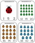 ladybug count and clip cards 2 the measured mom Printable Counting