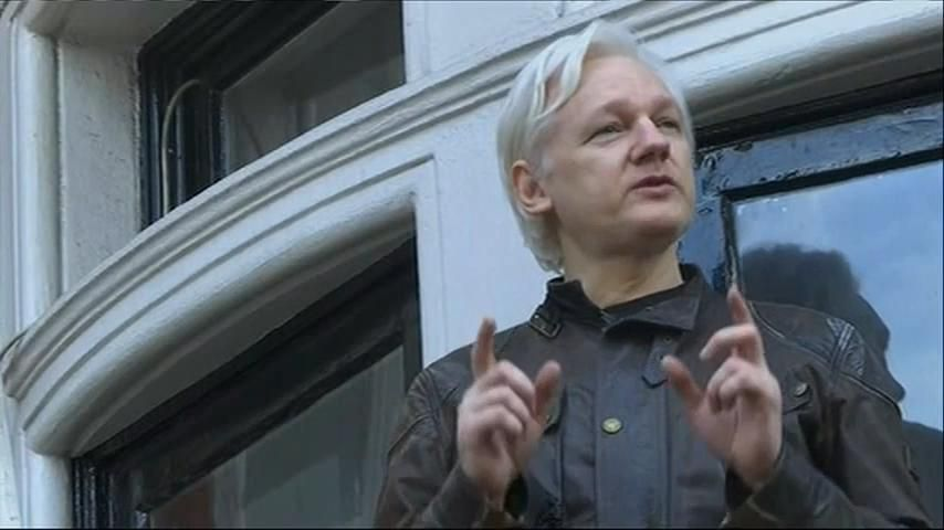 Julian Assange says 'proper war is just commencing' after rape investigation dropped