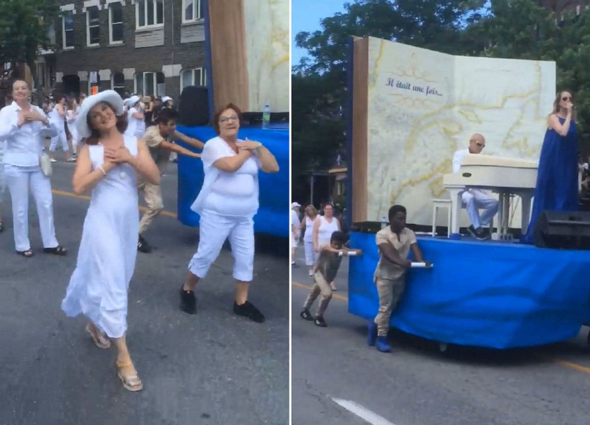 Float in Montreal Fête nationale parade sparks outrage