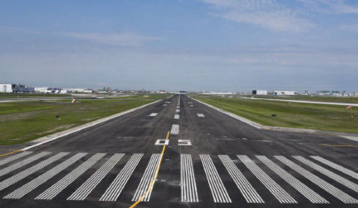 Pearson airport completes construction on busiest runway