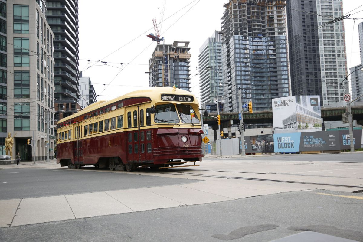 Vintage TTC streetcars are back every Sunday this summer