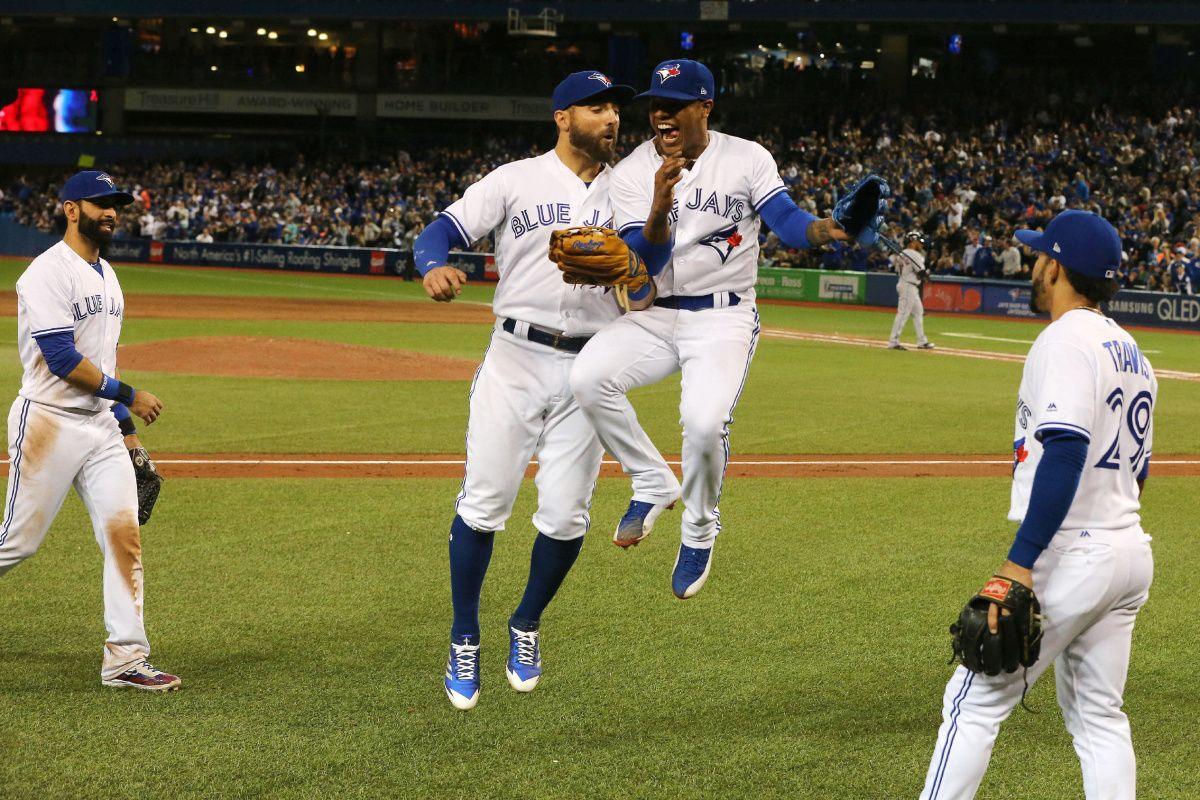Marcus Stroman leads Jays past Indians and former teammate Encarnacion