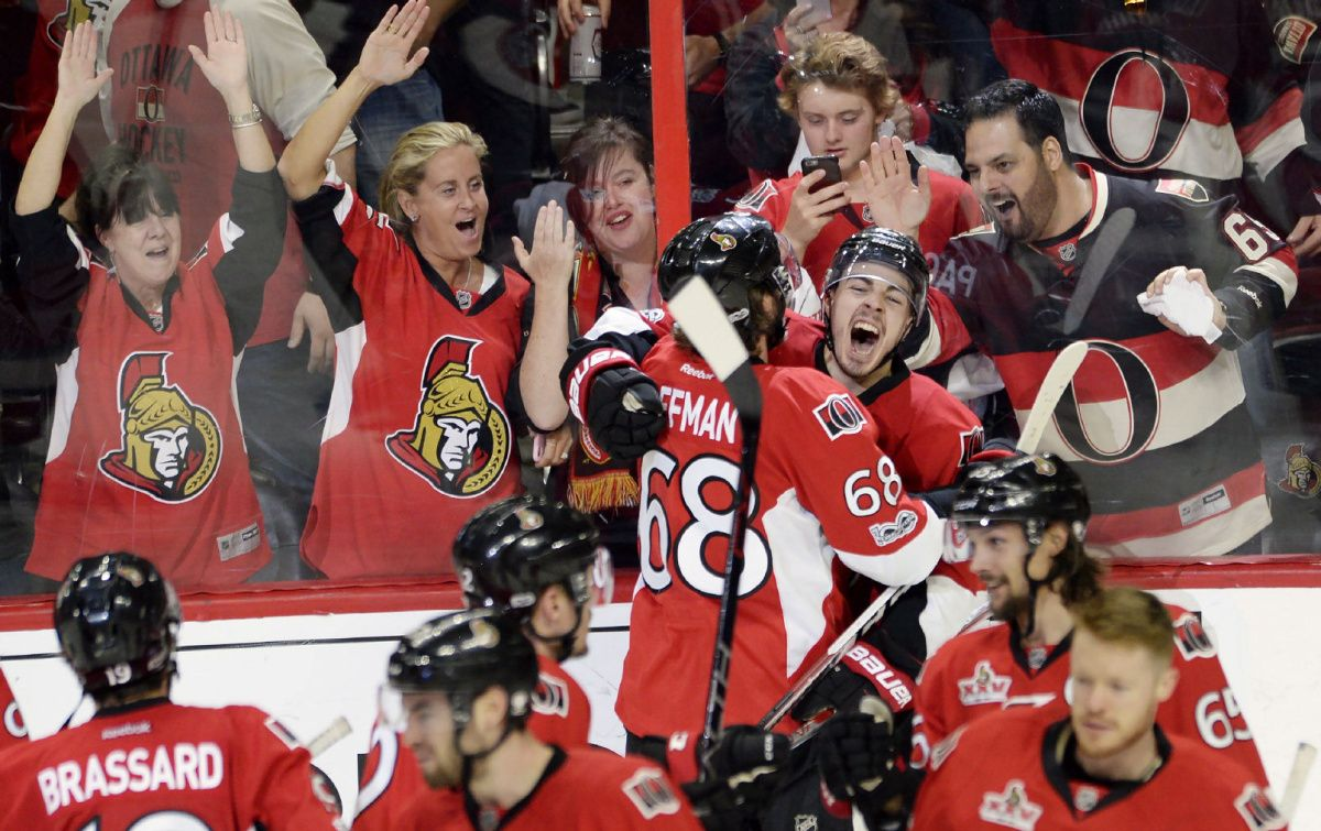 Pageau scores double-OT winner, Senators up 2-0