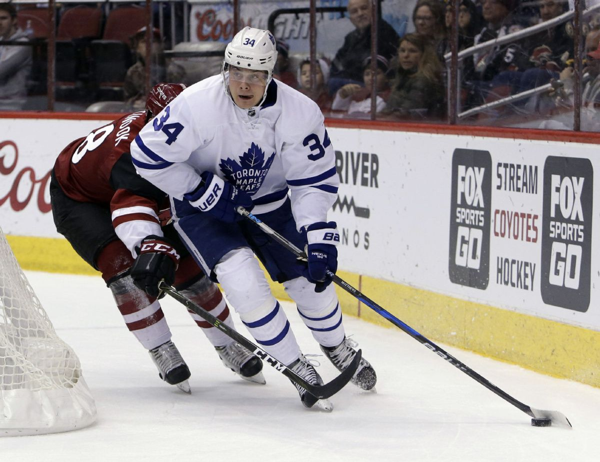 Maple Leafs rookie star Auston Matthews named to all-star roster
