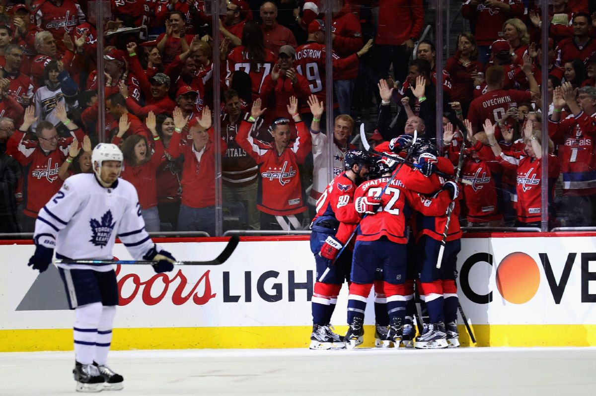 Washington's Justin Williams beats Maple Leafs in overtime