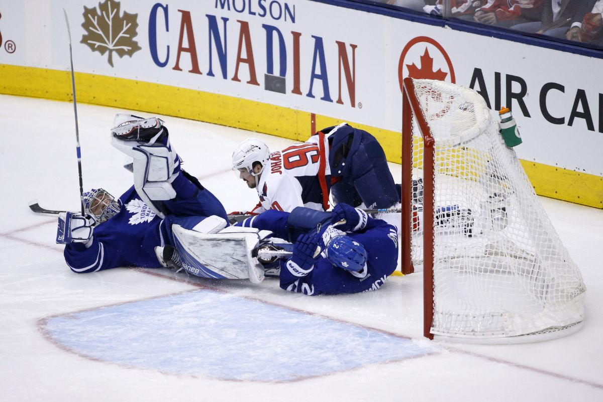 Capitals knock out Maple Leafs in Game 6