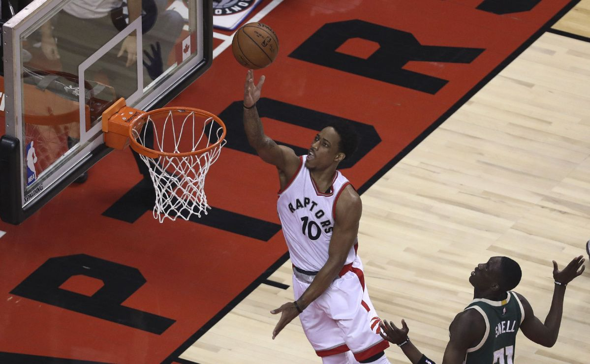 Raptors take on the Bucks in Game 2 of NBA playoffs
