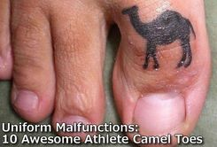 Uniform Malfunctions: 10 Awesome Athlete Camel Toes
