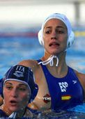 Yet another water polo player�s boob exposed  You think they could