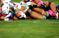 bet Lingerie Football League teams spend a lot of time practicing