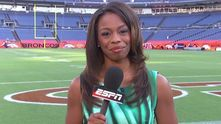 coveted sportcenter gig with espn in 2011 15 josina anderson