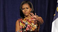 police officer who allegedly threatened First Lady Michelle Obama