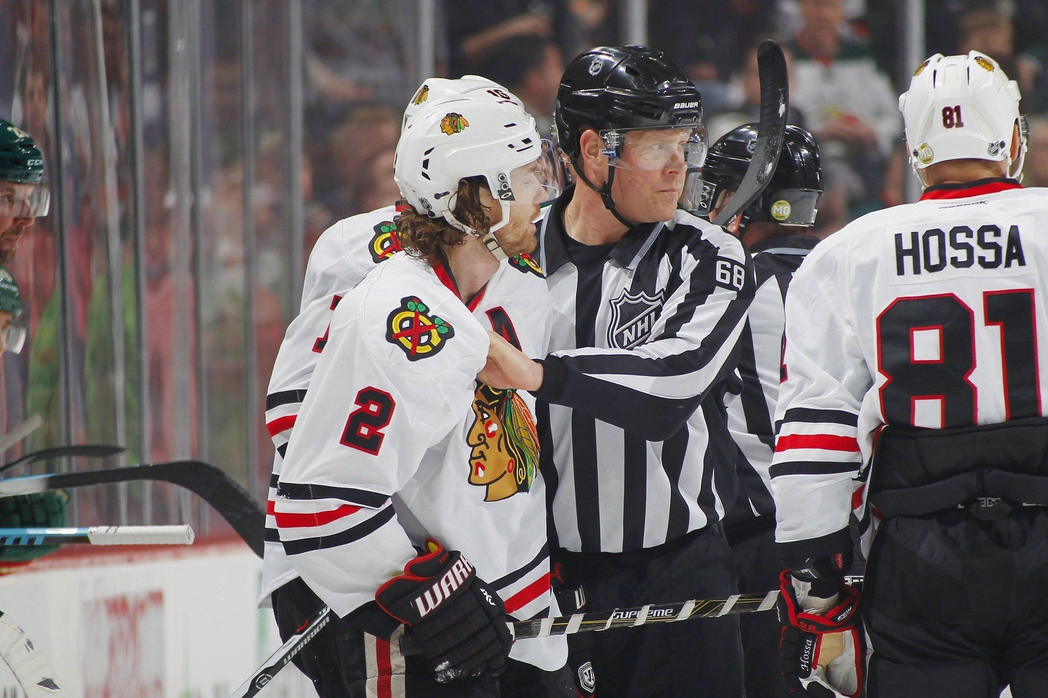 Blackhawks' Duncan Keith gets six-game suspension, will miss first game of playoffs - Chicago Tribune