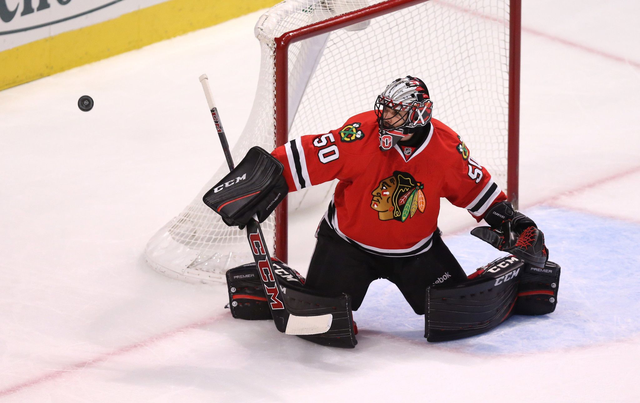 Corey Crawford out with appendectomy; Blackhawks fall to Flyers - Chicago Tribune