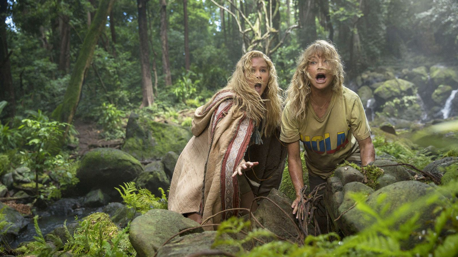 Amy Schumer and Goldie Hawn get lost in the jungle with 'Snatched' - Los Angeles Times