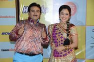 Tarak Mehta Ka Ulta Chasma Starcast at Kids Choice Award