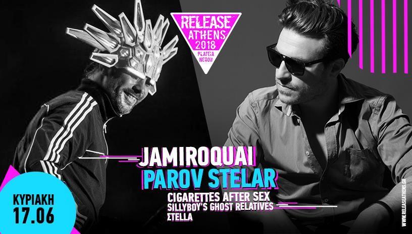 Release Athens 2018: Jamiroquai