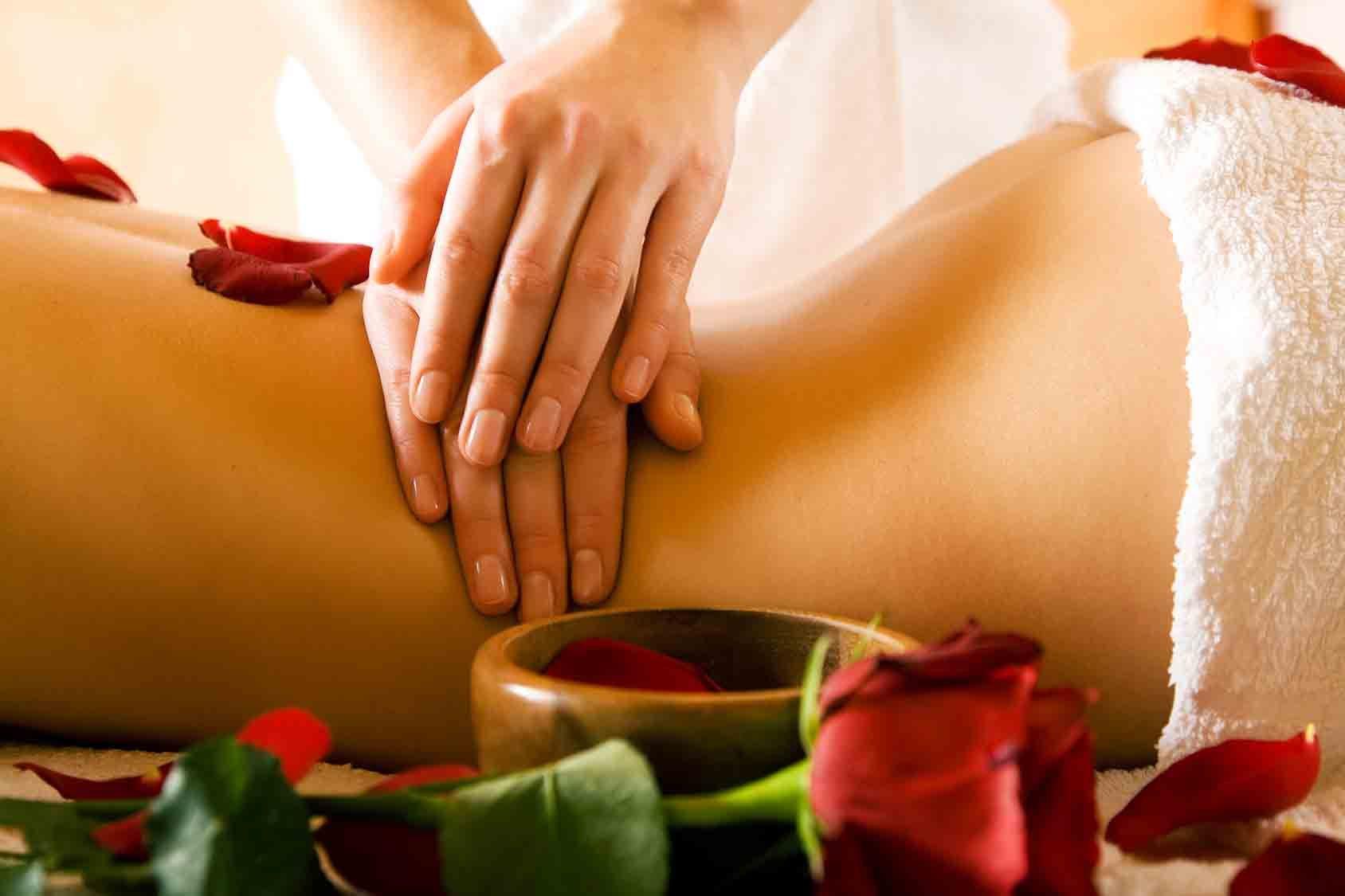 A Perfect Massage And A Romantic Fuck