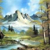 Pinturas Al Oleo, Imagenes De Bob Ross - Taringa!
