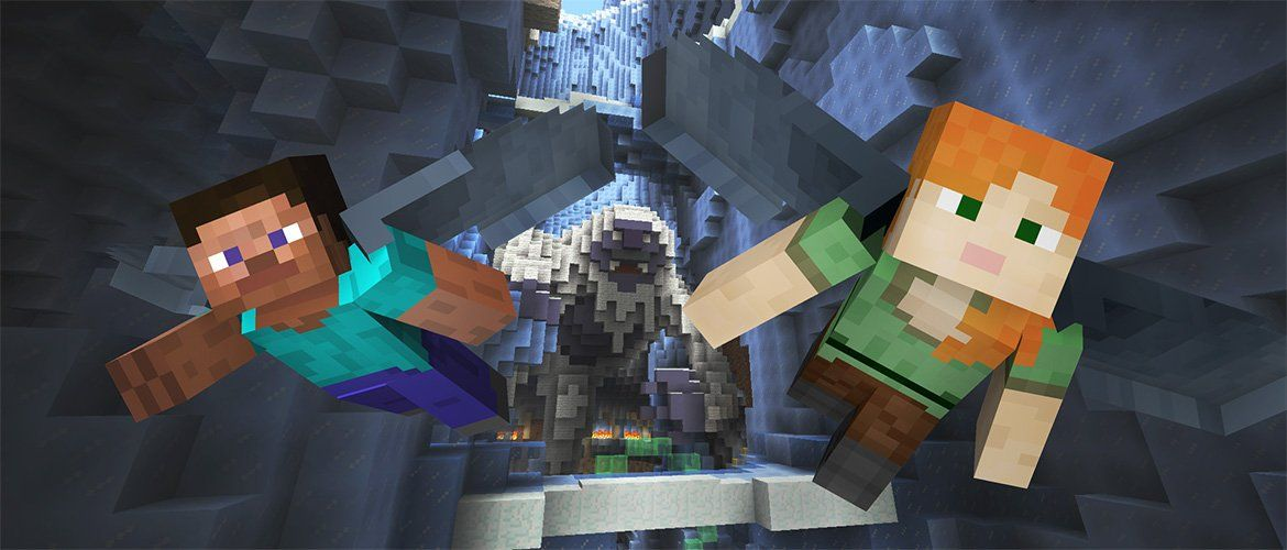 New beast-themed Glide maps soar into Minecraft Console Edition