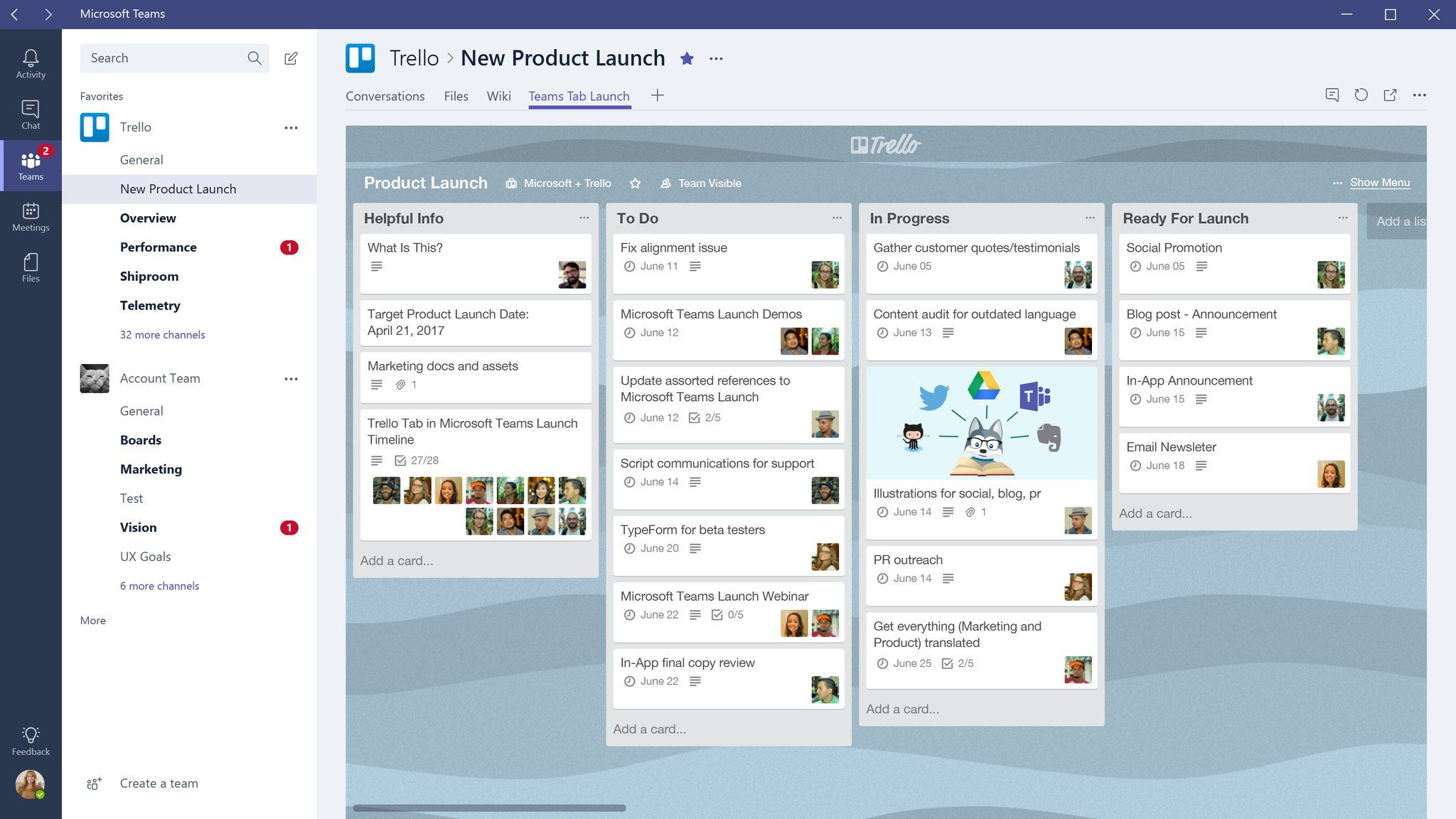 Microsoft Teams can now help you stay on task with Trello integration