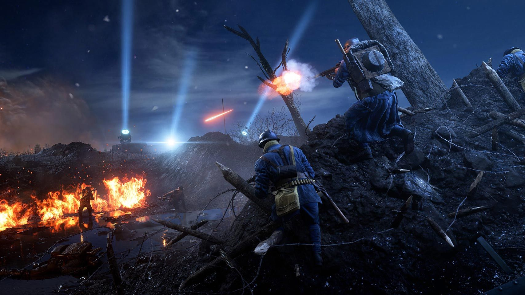 Battlefield 1's first night map arrives with the Nivelle Nights update on Xbox One