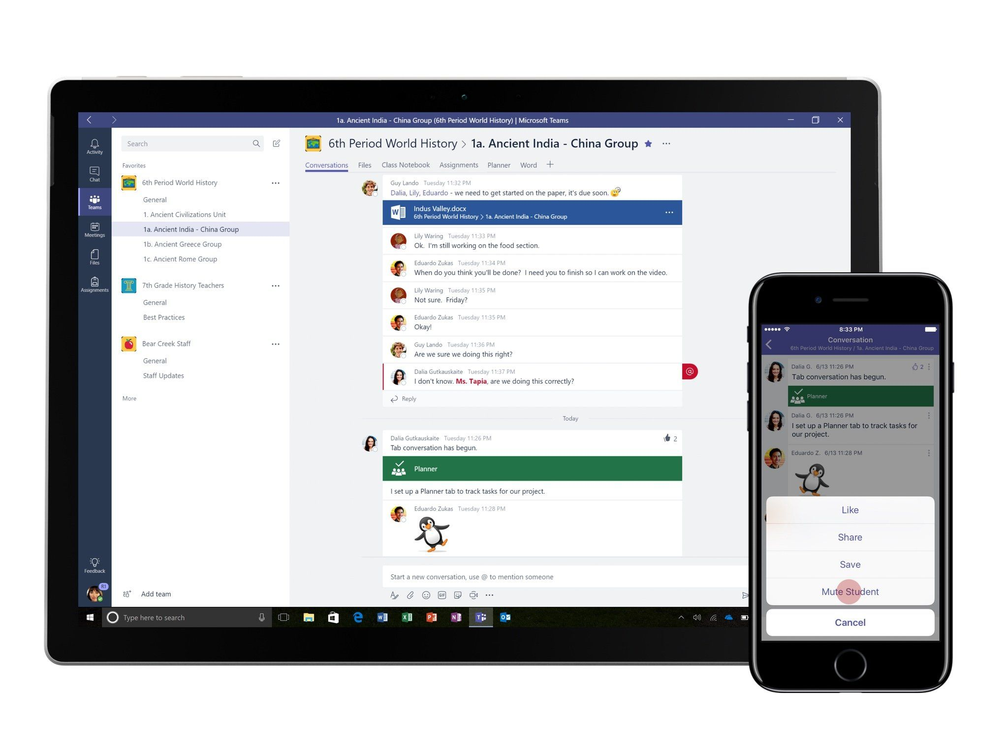 New classroom-focused features rolling out to Microsoft Teams
