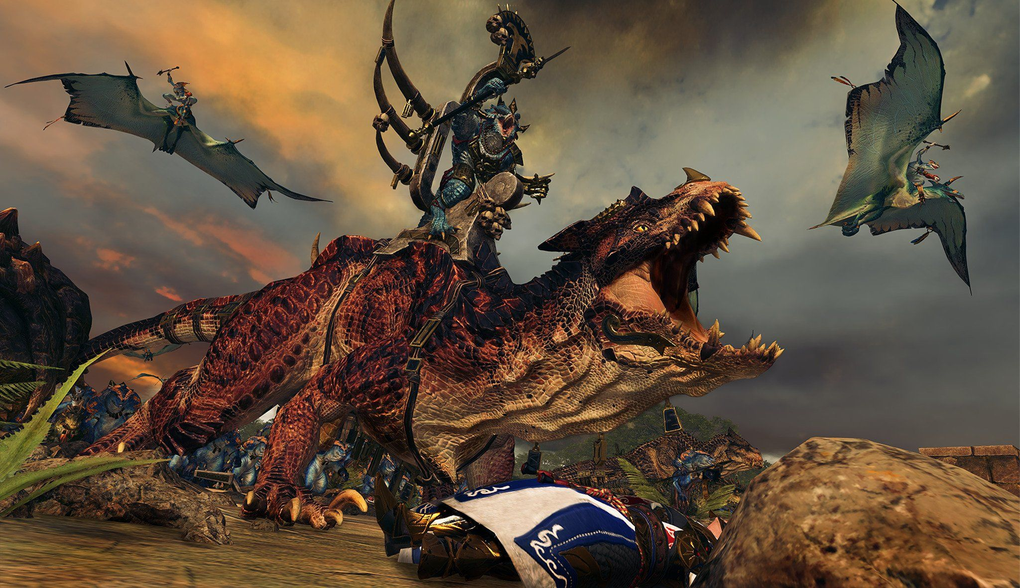 Total War: Warhammer II Hands-on – Lizardmen and Elves collide on the battlefield