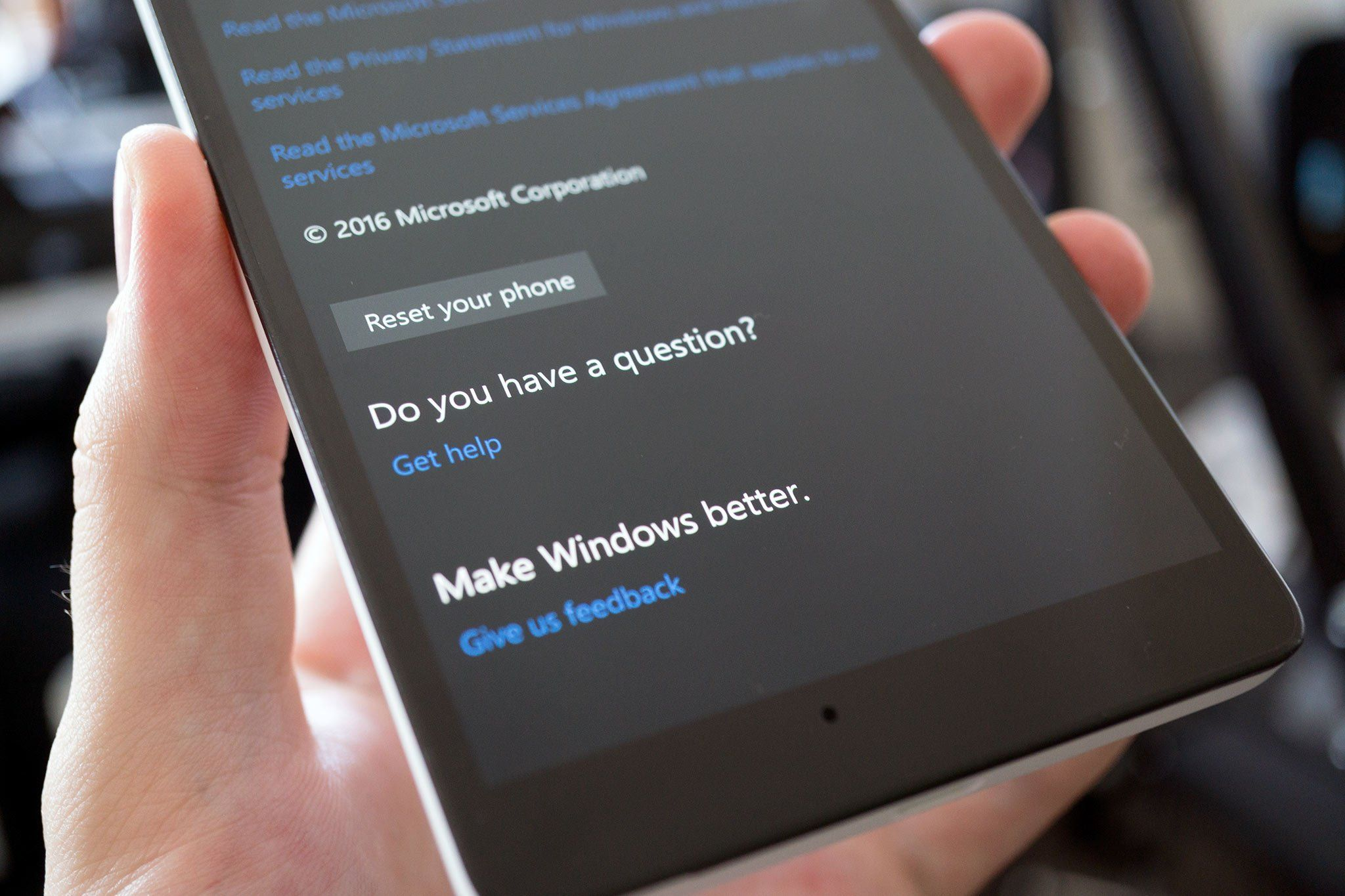 Have you had bad experiences with Microsoft's Windows 10 Mobile tech support?