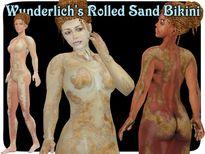 Wunderlich�s Rolled Sand Bikini