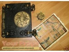 Book of the Dead and small props from