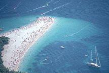 Croatia Golden horn  Bol  Beach Croatia Pakleni islands Hvar Croatia