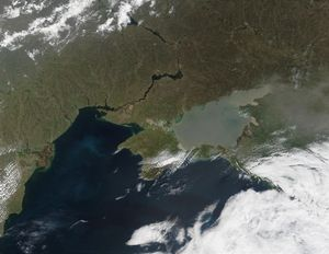 Sea of Azov, Crimea and Black Sea, Ukraine - Full size